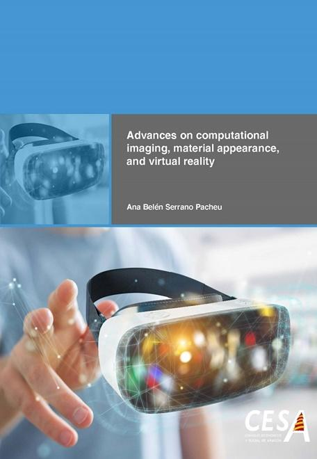 Portada de la tesis: Advances on computational imaging, material appearance, and virtual reality