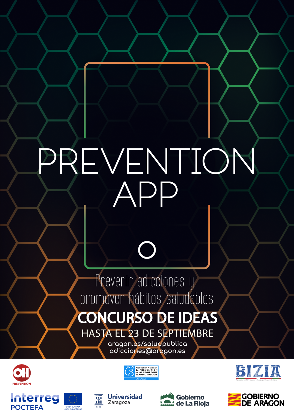 Cartel Concurso Prevention APP