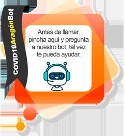 Imagen del proyecto de chatbot sobre la Covid-19 del Gobierno de Aragón