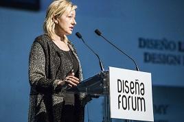 Marta Gastón Menal en su intervención en Diseña Forum.