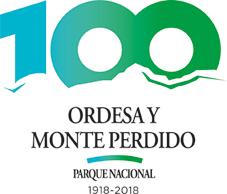 Logo 100 años Parque Nacional de Ordesa y Monte Perdido