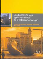 Portada del estudio: Condiciones de vida y pobreza relativa de la población en Aragón