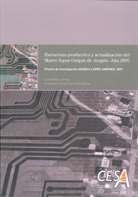 Portada del proyecto: Estructura Productiva y Actualización del Marco Input-Output. Año 2005