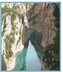 Congosto de Montrebei. Río Noguera Ribagorzana