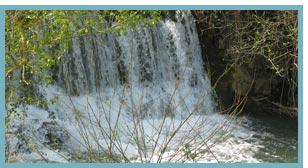 Río Huerva. Azud de Lagueruela