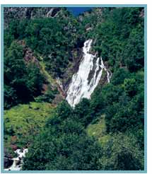 Cascada de la Espigantosa del río Eriste.
