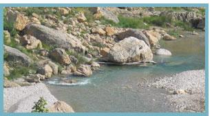 Imagenl del río Bergantes