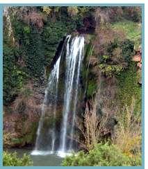 Río Piedra. Cascada del Vado - Salto de la Requijada