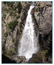 Salto del Pino. Río Caldarés