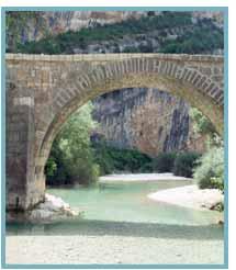 Río Vero. Desde el Puente de Villacantal al Barranco de la FuenteRío Vero. Desde el Puente de Villacantal al Barranco de la Fuente