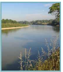 Imagen del Meando del Rincón Falso del río Ebro.