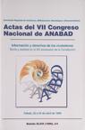 Portada actas VII Congreso Nacional ANABAD