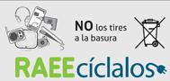 Cartel Campaña 2013 No lo tires a la basura RAEEcíclalos