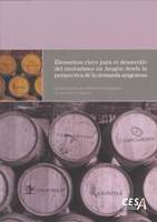 Portada del proyecto: Elementos clave para el desarrollo del enoturismo en Aragón desde la perspectiva de la demanda aragonesa