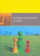 Portada del estudio: Las familias monoparentales en Aragón
