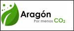 Logo de Aragón Por menos CO2