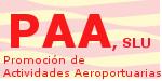 Logotipo de la empresa Promoción de Actividades Aeroportuarias