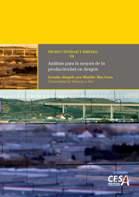 """Portada del estudio: Análisis para la mejora de la productividad en Aragón, (Vol. III. """"Productividad y Empleo)"""