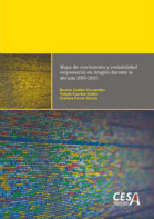 Portada del estudio: Mapa de crecimiento y rentabilidad empresarial en Aragón durante la década 2005-2015