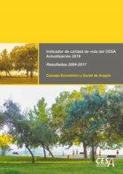 Portada del estudio: Actualización del Indicador de Calidad de Vida (IQVCESA)