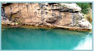 Río Arba de Luesia - Pozo Pigalo