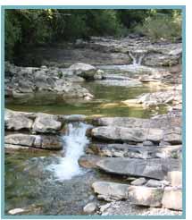 Imagen de el barranco El Chate en el río El Chate