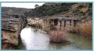 Río Guadalope. Salto de la CuevaRío Guadalope. Salto de la Cueva
