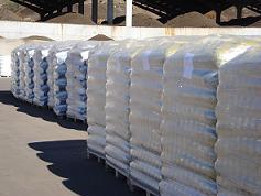 Sacos con fertilizantes