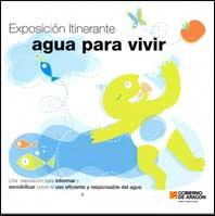 Cartel de la exposición Agua para Vivir