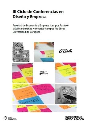 Cartel III Ciclo de conferencias en Diseño y Empresa