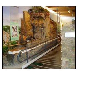 Interior Centro de Interpretación