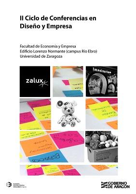Cartel II Ciclo de Conferencias en Diseño y Empresa en la Universidad de Zaragoza.
