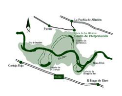 Mapa recomendaciones para la visita